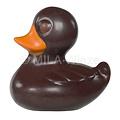 Chocolade badeendjes deco - 7 cm - 45 gr