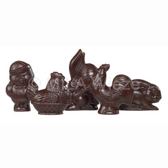 Mini paasfiguren - 25 à 35 gr
