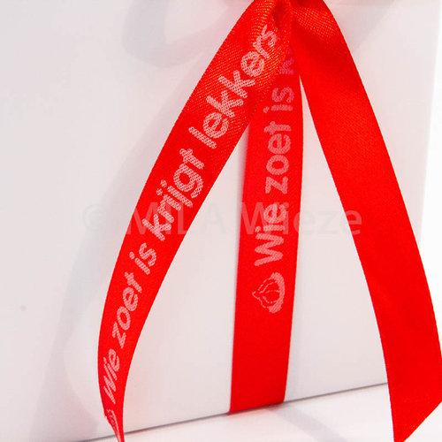 Luxe doos van Sinterklaas gevuld met chocolade zoo diertjes - 5 rijen
