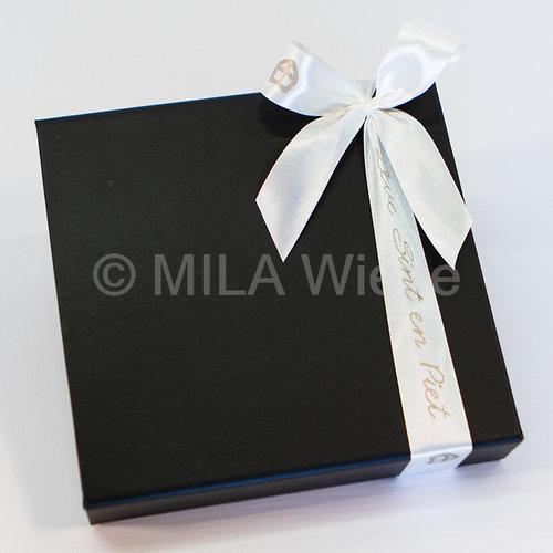 Luxe doos van Sinterklaas gevuld met chocolade zoo diertjes - 7 rijen