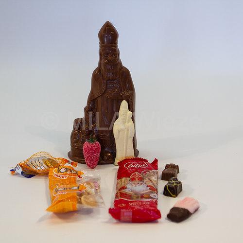 Sinterklaaspakket met steun aan kinderkankerfonds
