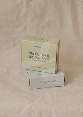 Zeeplokaal ZEEPLOKAAL groene thee & citroengras 130gr