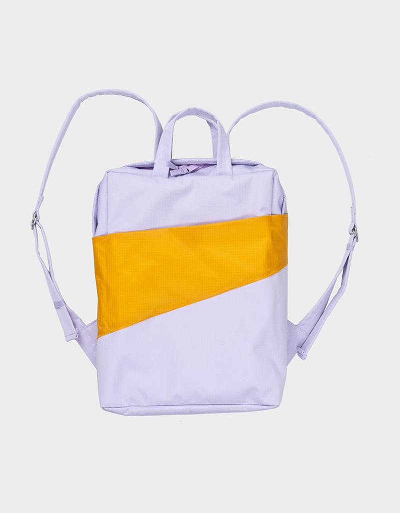 Susan Bijl SUSAN BIJL Backpack one-size lavender-moutarde