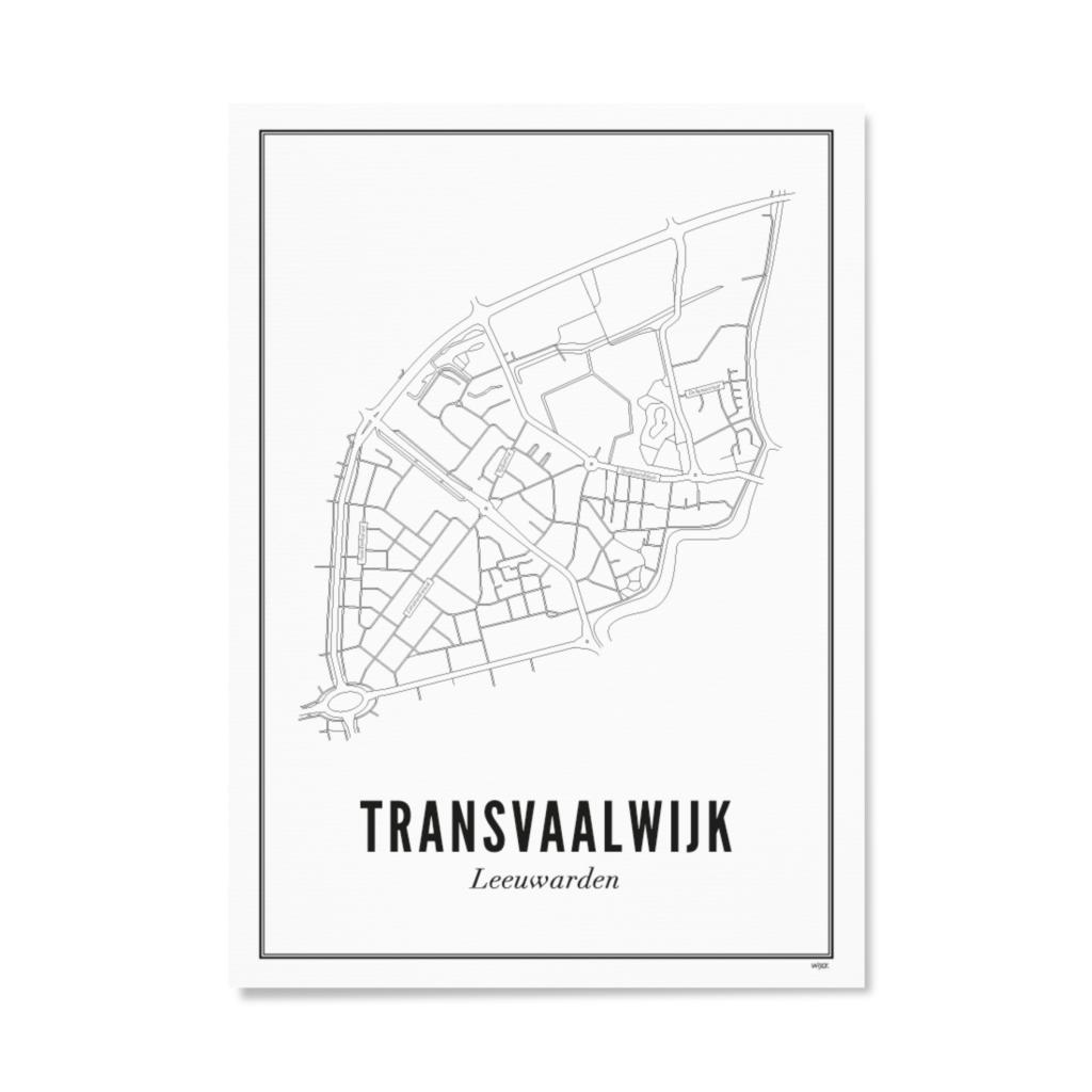 WIJCK WIJCK poster Leeuwarden Transvaalwijk