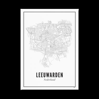 WIJCK WIJCK poster Leeuwarden Stad