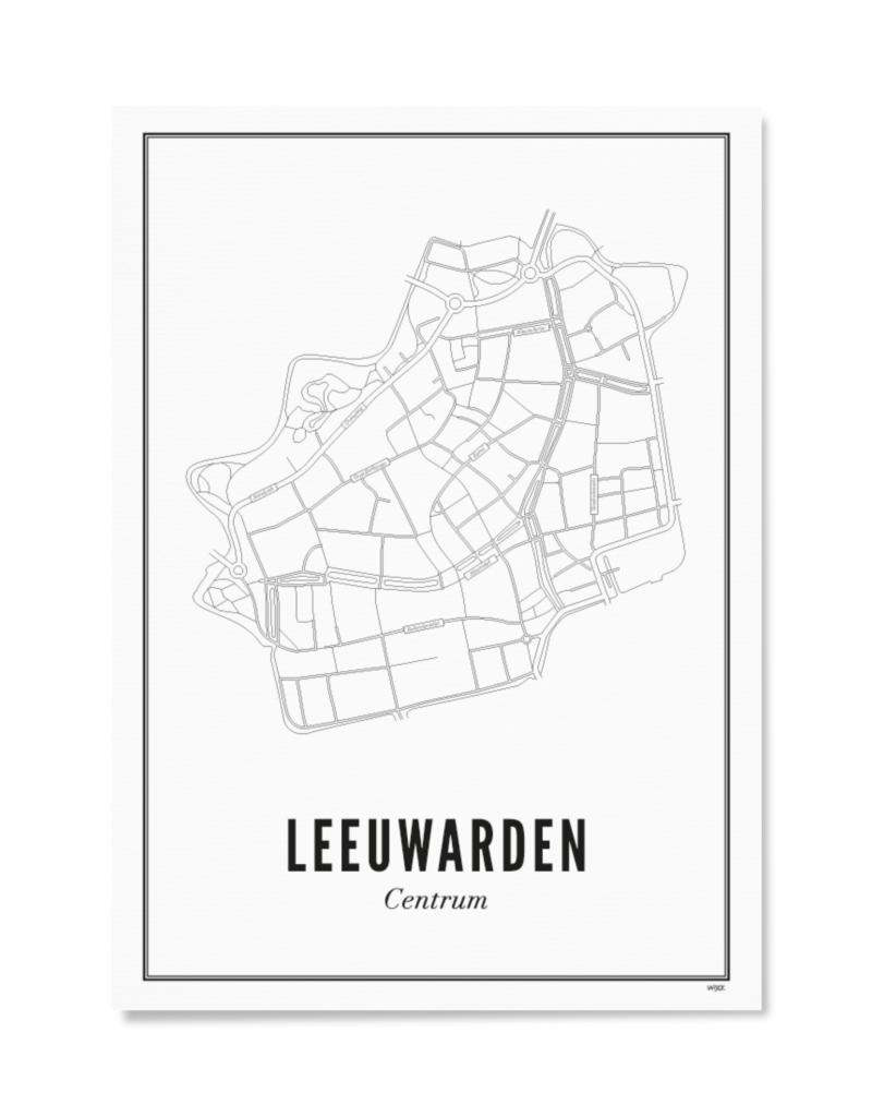 Wijck WIJCK poster Leeuwarden Centrum