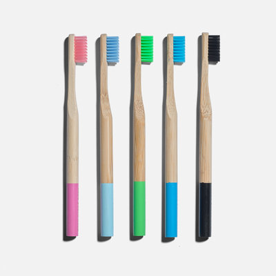 ZERO WASTE CLUB Zero Waste Club Bamboo tandenborstel