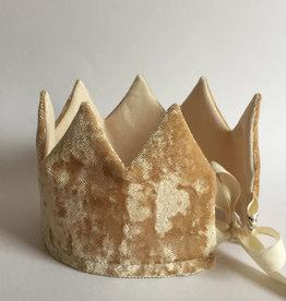 SUUSSIES SUUSSIES crown Velvet gold