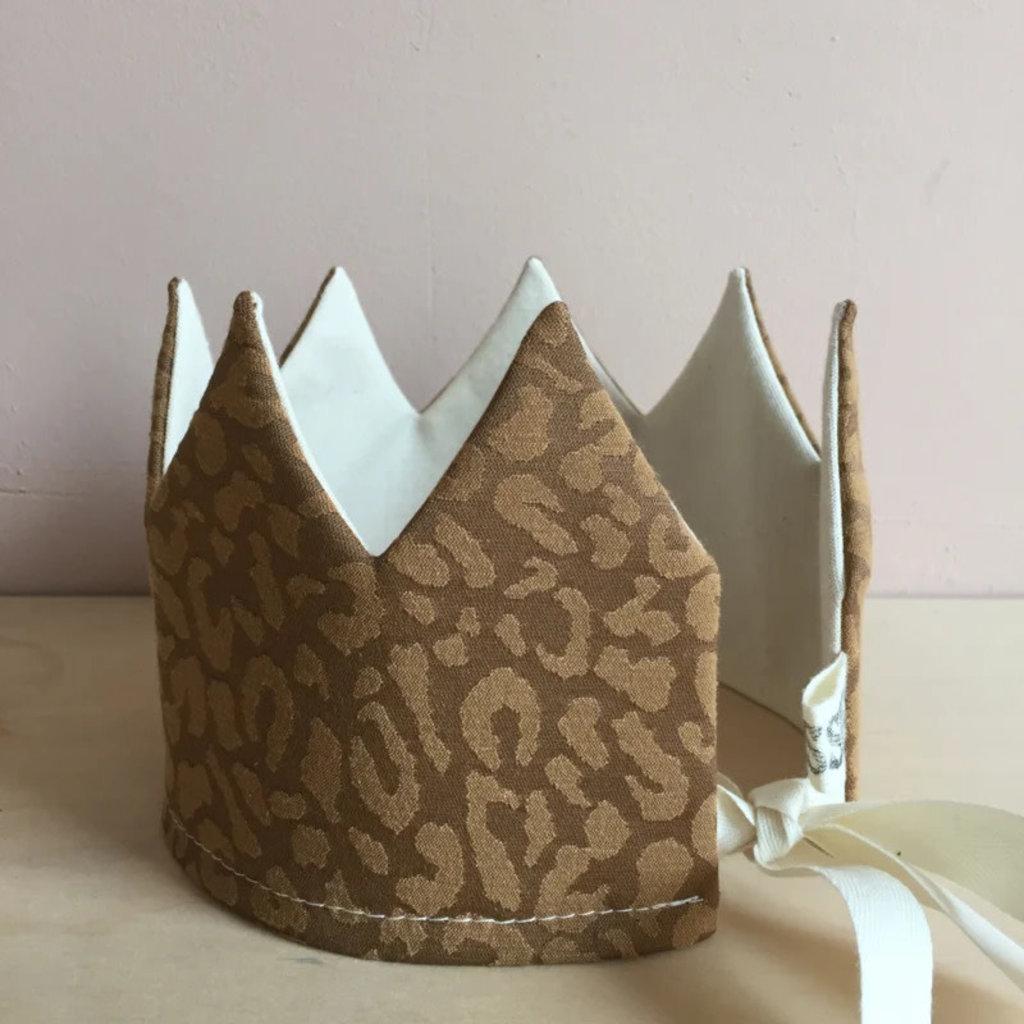 SUUSSIES SUUSSIES crown Olive leopard