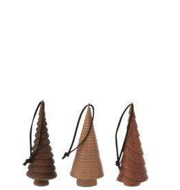 Kerstboomhanger 3 kleuren