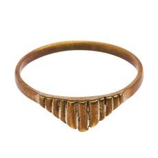 Ring  shape stripe brass