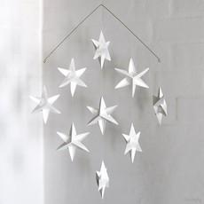 LIVINGLY Mobiel met 9 sterren wit