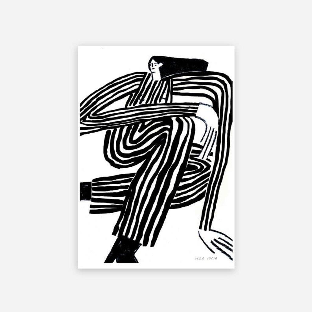 LUCIA LENDERS Risoprint Stripe A4