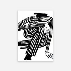 LUCIA LENDERS print Stripe 50X70cm
