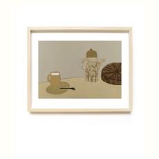TED & TONE print Cake A4
