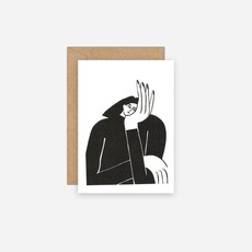 LUCIA LENDERS risoprint postcard