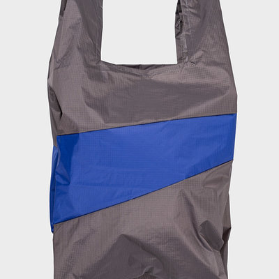SUSAN BIJL SUSAN BIJL Shoppingbag warm grey-electric blue