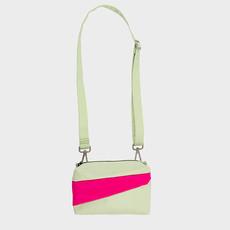 SUSAN BIJL SUSAN BIJL Bum Bag pistachio-pretty pink