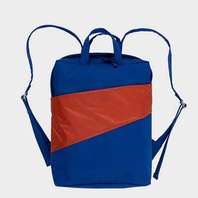 SUSAN BIJL SUSAN BIJL Backpack one-size electric blue-rust
