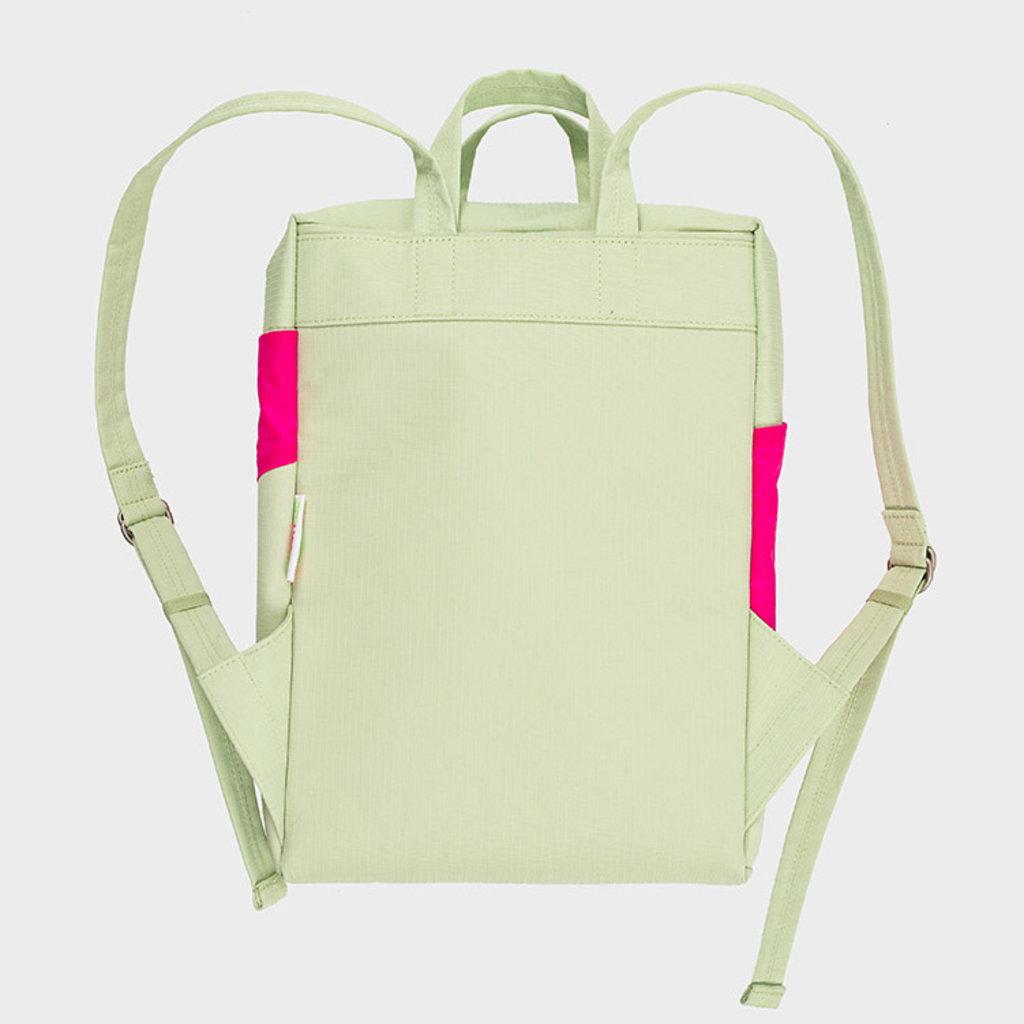 SUSAN BIJL SUSAN BIJL Backpack one-size pistachio-pretty pink