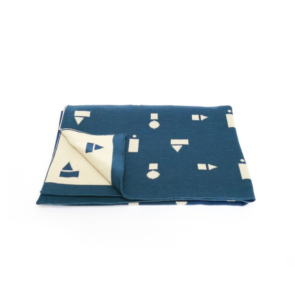 TED & TONE Blanket Blue Playblocks