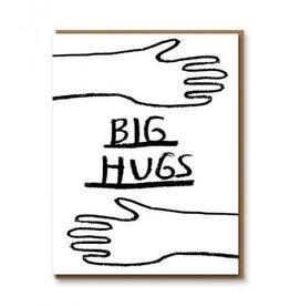 Big hugs kaart