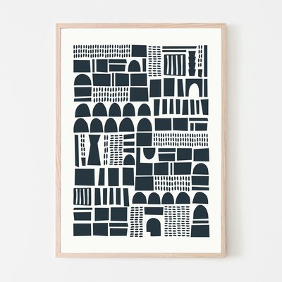 SILVIA VISSCHER Poster | geometric 04