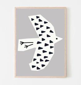 SILVIA VISSCHER Poster   bird 03