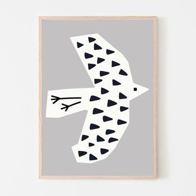 SILVIA VISSCHER Poster | bird 03
