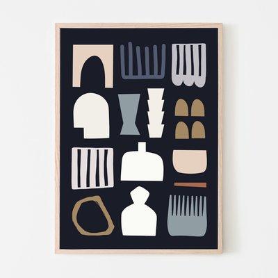 SILVIA VISSCHER Poster | shapes 04