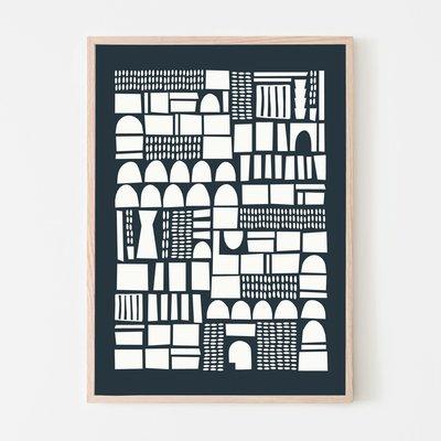 SILVIA VISSCHER Poster | geometric 03