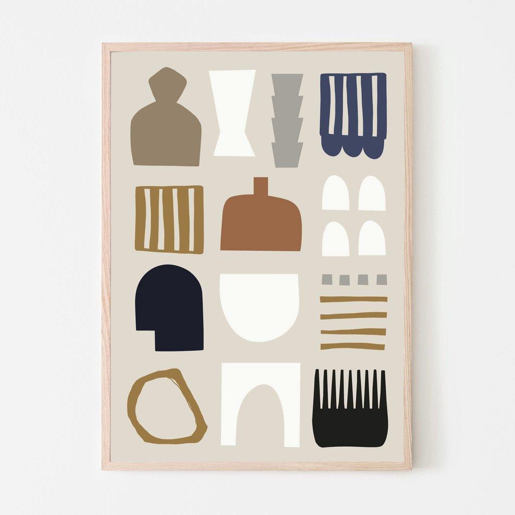 SILVIA VISSCHER Poster   shapes 03
