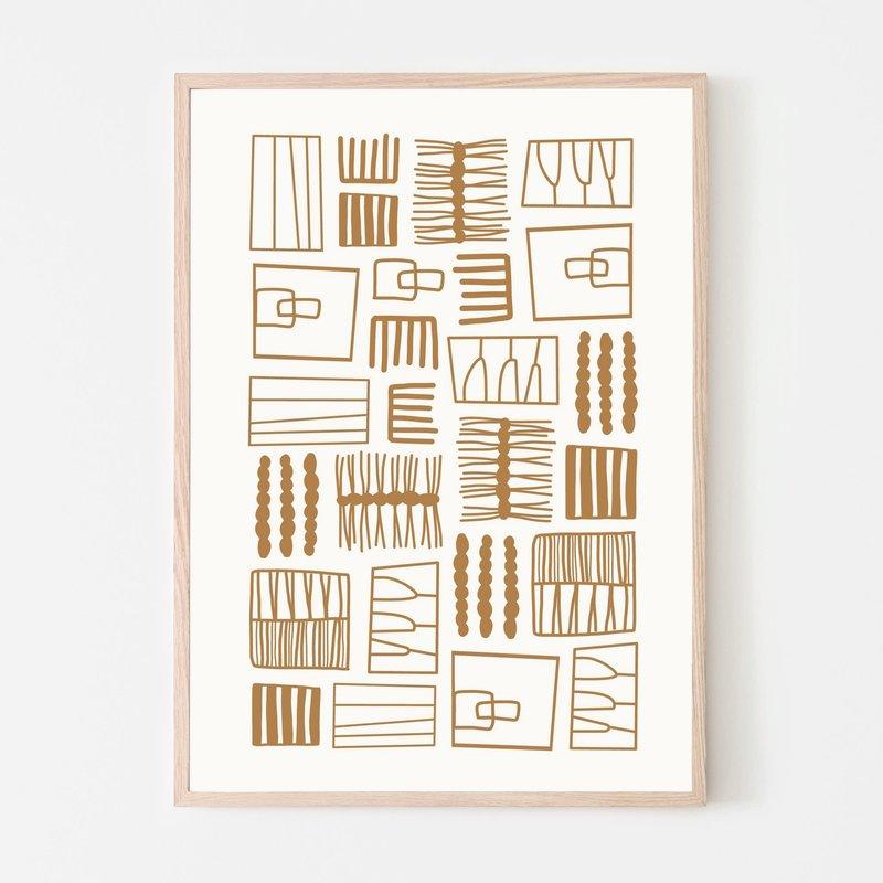 SILVIA VISSCHER Poster | embroidery A01