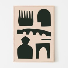 SILVIA VISSCHER Poster | visual souvenirs B03