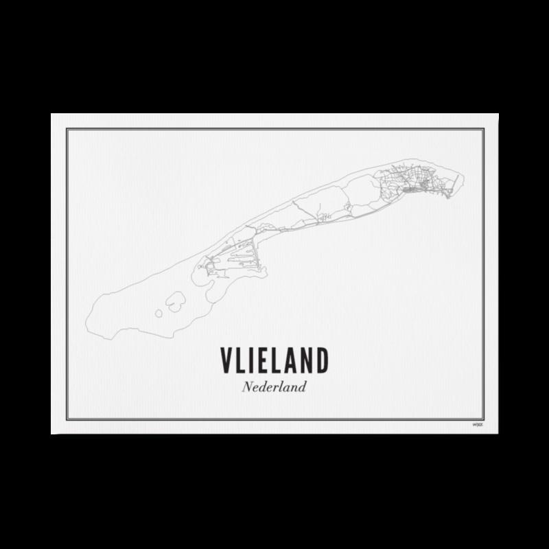 WIJCK Wijck poster Wadden Vlieland