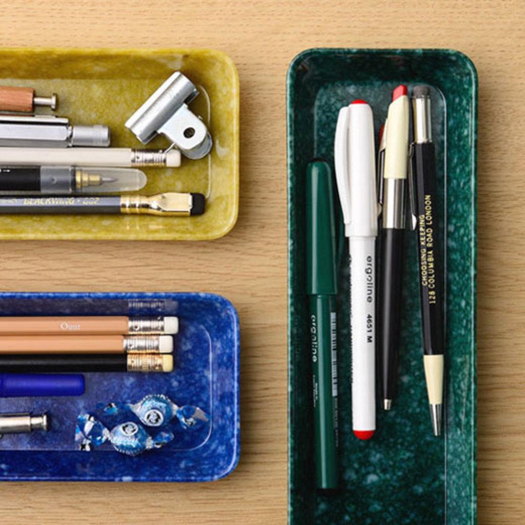 BYBJOR HIGHTIDE Melamine desk tray Medium