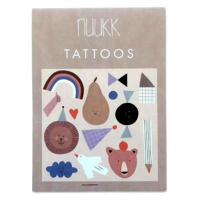 NUUKK Organic tattoo Happy