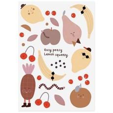 NUUKK Organic tattoo Cheeky fruits