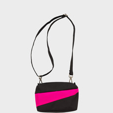 SUSAN BIJL SUSAN BIJL Bum Bag black-pretty pink Small