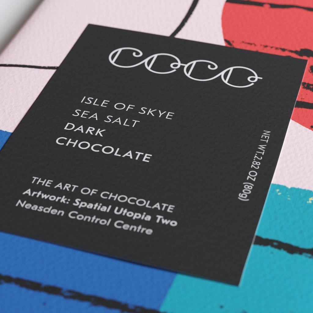 COCO CHOCOLATIER COCO CHOCOLATIER Isle of Skye Sea Salt / Dark