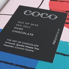 COCO CHOCOLATIER Isle of Skye Sea Salt / Dark