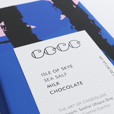 COCO CHOCOLATIER Isle of Skye Sea Salt / Milk