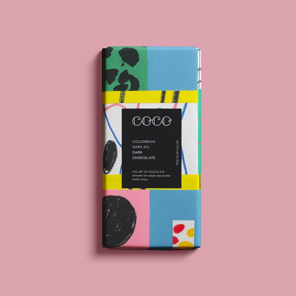 COCO CHOCOLATIER Colombian Dark   Atelier Bingo