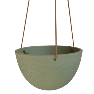 Hangpot Lucy groen Large