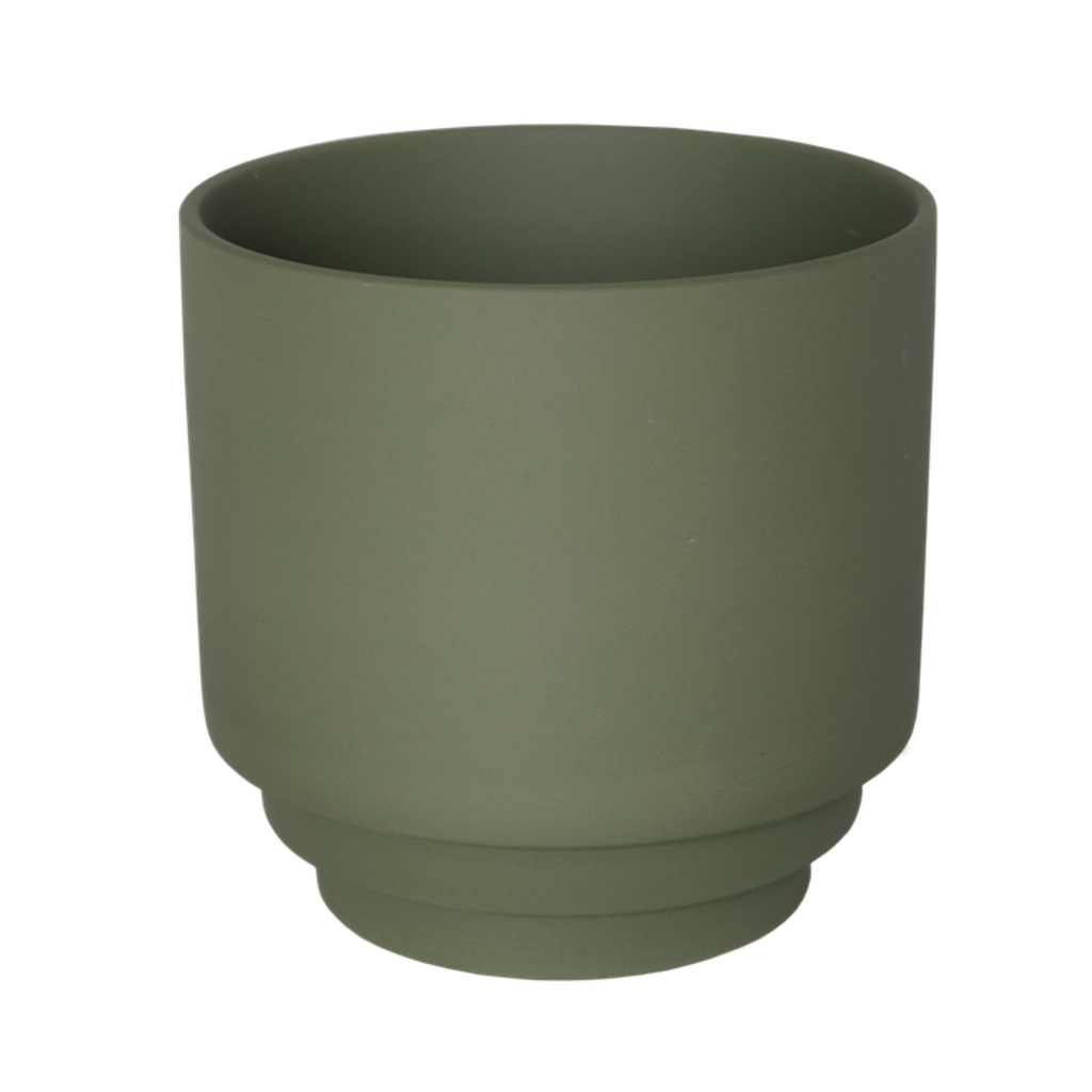 Bloempot Nola groen medium