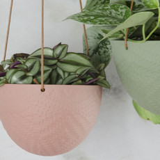 Hangpot Lucy oud roze Small