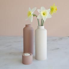 waxinelichthouder Jula roze 5,5cm