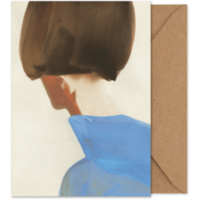 PAPER COLLECTIVE Paper Collective Art card The Blue Cape