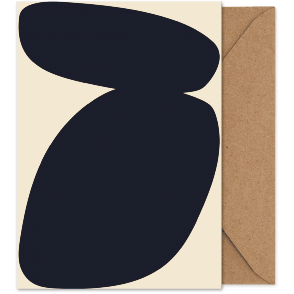 PAPER COLLECTIVE Paper Collective Art card Solid shapes 03