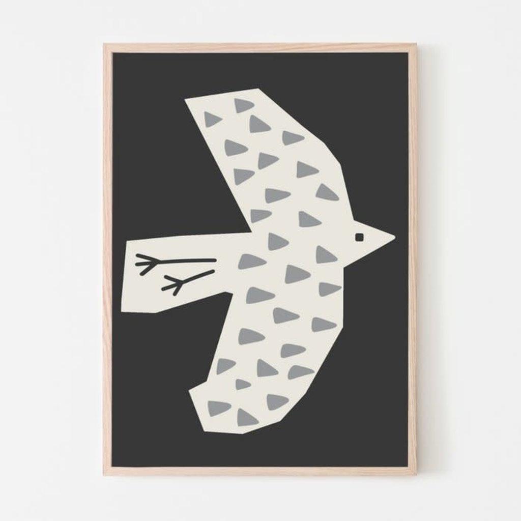 SILVIA VISSCHER Poster | bird 04